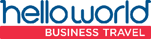 [Partner Logo] helloworld Business Travel